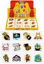576 Pirate Temporary Children's Tattoos Wholesale Lot Job Lot -assorted designs