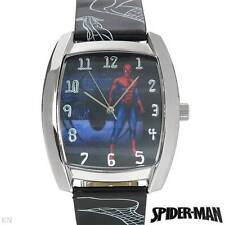 SPIDERMAN Brand New Gentlemens Watch in two tone Leather