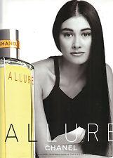 PUBLICITE ADVERTISING  2001   CHANEL  ALLURE  parfum