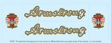 Armstrong Bicycle Decals-Transfers-Stickers #1