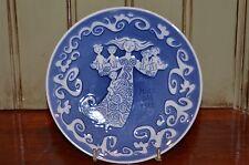 Royal Copenhagen Mors Dag 1973 Mothers Day Porcelain Collectors Plate Wall Hang