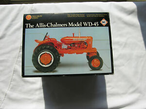 ERTL  Precision Series   # 2253  Allis- Chalmers Model  WD-45  Farm tractor 1/16