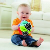 Baby Children Kids Toddlers Fisher Price Soft Textures Jingle Rattle Sensory Toy