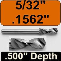 ".122/"" 3.10mm Carbide Drill Bit 1//8/"" Shank  .400/"" Depth Size on Depth Ring"