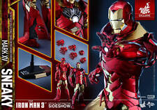 Hot Toys Iron Man 3 Mark XV 15 Sneaky Retro Armor Version 1/6 Scale Figure NEW