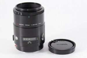 """""""As-is Read"""" Minolta AF 100mm F/2.8 Macro Lens for Sony A Mount From Japan 97A"""