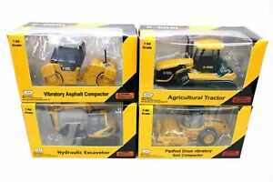 4pcs C-COOL Engineering Vehicles Model 1/64 Constraction Toy Gift Collection