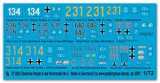 Peddinghaus 2024 1/72 Carri Armati Tedeschi in der Normandia No 5