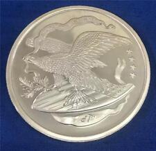 Vintage United States 10 ounce .999 Fine Silver Eagle Large Engraveable Coin