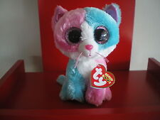 Ty Beanie Boos FIONA the cat 6 inch NWMT. Justice Exclusive.LIMITED QUANTITY.