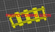 Custom 3D Printed Lego RC Compatible Plastic Rails Wide Radius R88 Train Track