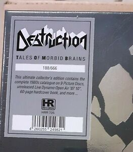 Destruction - Tales Of Morbid Brains PICTURE VINYL LP BOX  Kreator Sodom OVP
