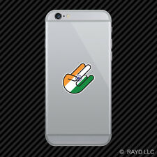 Indian Shocker Cell Phone Sticker Mobile India IND IN