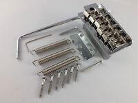 VINTAGE STYLE TREMOLO BRIDGE 54mm TREM ARM & FULL BLOCK FOR STRATOCASTER