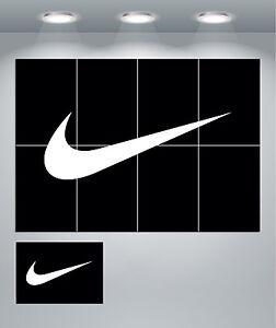 Nike Tick Swoosh Giant Wall Art poster Print