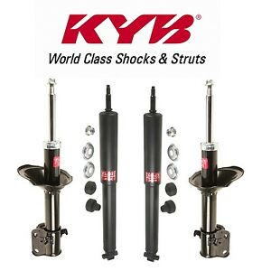 For Ford Mustang 2011-2013 Front & Rear Strut Assembly KYB Excel-G