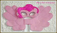 Handmade Mask and Large Wings Set - Pinkie Pie  - My Little Pony