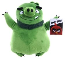 "OFFICIAL NEW 12"" GREEN BEARD ANGRY BIRD FROM ANGRY BIRD THE MOVIE PLUSH SOFT TOY"