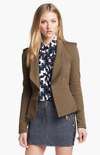 Women's Rebecca Minkoff Peplum Jacket/Blazer - Size 4 – 305 Olive -  PF136006