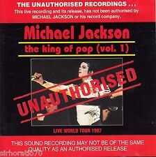 MICHAEL JACKSON The King Of Pop (Vol. 1) CD - Live