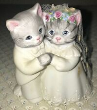 Kitty Cucumber Collectible 1987 Bride and Groom.