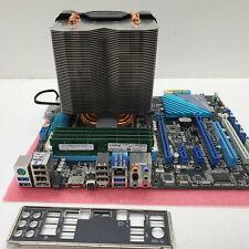 PC Bundle ASUS P9X79 |CPU Intel core i7-3930k|LGA 2011|64Gb DDR3| K203/32