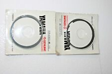 2 nos Yamaha snowmobile standard ring sets 8g6-11601-00 1978-81 ex440 exciter