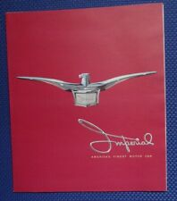 Original 1957 Chrysler IMPERIAL Automobile Sales Brochure - NOS EXCELLENT!