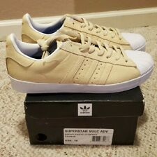 Adidas Superstar Vulc ADV Pastel Yellow CG4838 Size:10 NEW WITH BOX