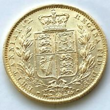 More details for 1863 die 18  victoria shield full  sovereign
