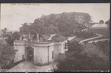 Nottinghamshire Postcard - Nottingham Castle   RT856