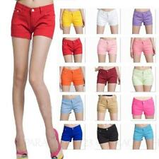 Cotton Regular Machine Washable Low Shorts for Women