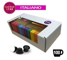 100 coffeestar ESPRESSO ITALIANO COMPATIBILE NESPRESSO CAPSULE