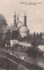 PADOVA - Basilica del Santo da Ponte Corbo