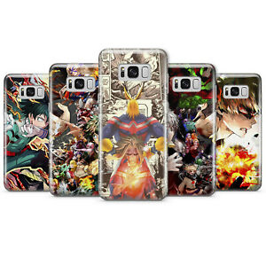 MY HERO ACADEMIA ANIME PHONE CASES & COVERS FOR SAMSUNG S8 S9 S10 NOTE 9 10 A20