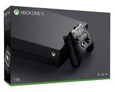 Microsoft Xbox One X 1TB Black Console HD 4K - Manufacturer Refurbished