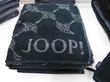 Joop Handtuch 50 X 100cm Classic Cornflower 1611 FB 97 schwarz / grau