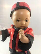 """8"""" Antique German Bisque Head Doll! Elegant! Rare! 18053"""