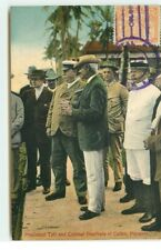Panama - President Taft and Colonel Goethals at Coton - 6912