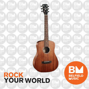 Cort AD MINI M OP Acoustic Guitar Dreadnought Mahogany Open Pore w/ Gig Bag - BM