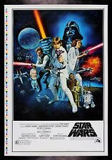 STAR WARS * CineMasterpieces STYLE C ORIGINAL MOVIE POSTER PRINTER'S PROOF 1977