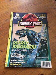 Jurassic Park Comic Volume 1 Number 13 1992 Comic