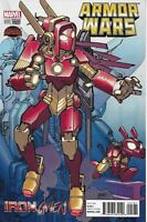 Armor Wars Comic Issue 1 Limited Variant Modern Age First Print 2015 Robinson