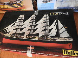 HELLER  PAMIR  1/150 scale  IN BOX SAILING SHIP MODEL