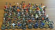 Heroclix Miniatures Lot 100 Marvel DC Champions Hero System Figures Flyers RPG A