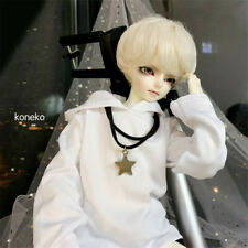 1/4 BJD BOY Doll Clothes Oversize Hoodie Necklace Pants Trousers Underwear