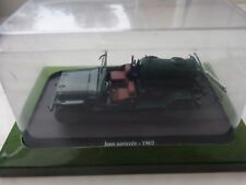 HACHETTE UNIVERSAL HOBBIES 1/43 CLASSIC JEEP AGRICOLE 1962 MODEL TRACTOR