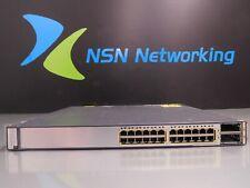 Cisco Catalyst WS-C3750E-24PD-S 24-Port Gigabit PoE Switch NO PSU INCLUDED LOT A