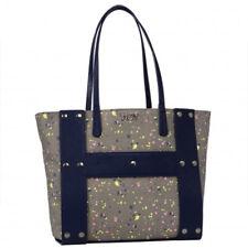 Borsa Hoy Collection fashion bag reversibile HOY SPOT donna blu pochette grande