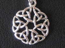 Keltischer Knoten Silber 925'er  Ketten Anhänger Keltenknoten  / KA 150